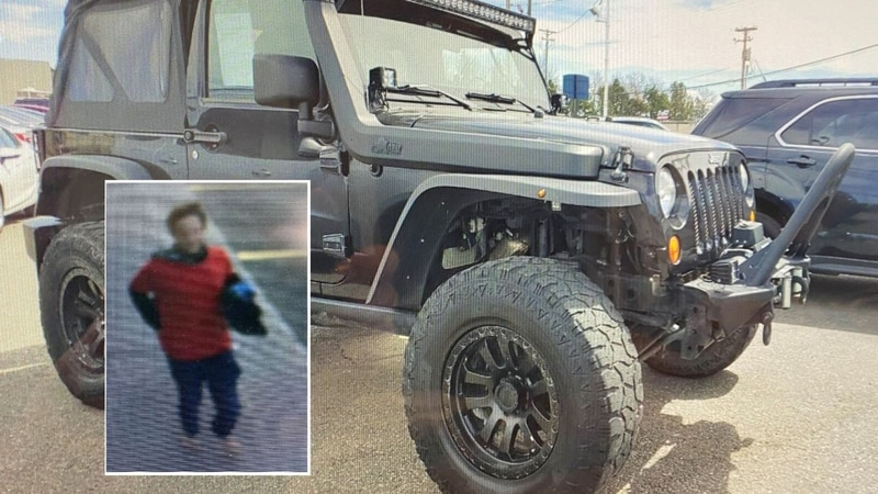 Idaho Falls officers looking for man who waived gun at people, drove off in stolen Jeep....