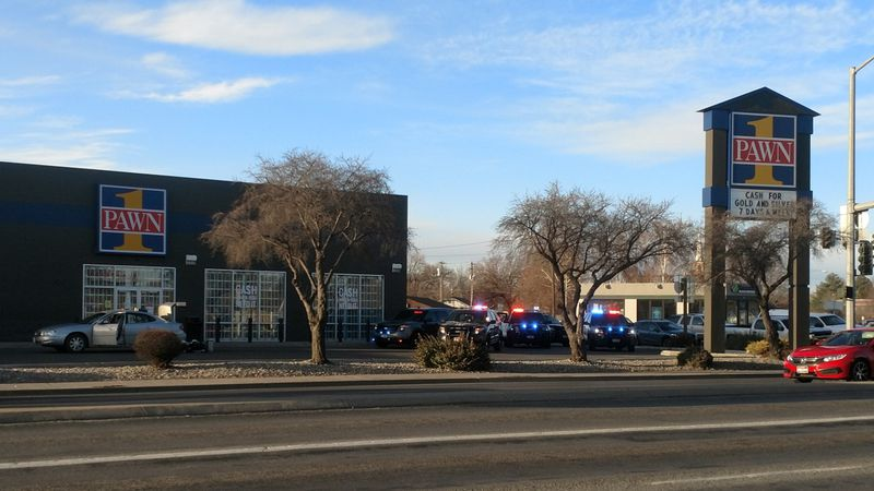 Twin Falls police arrested two Utah residents Monday morning in front of a pawn shop near a...