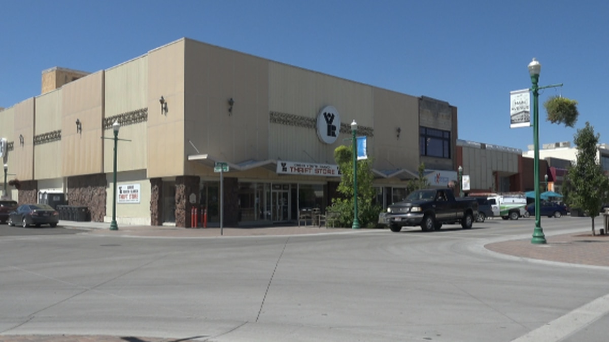 The former Idaho Youth Ranch building in downtown Twin Falls will soon be demolished to make way for a six story residential, office and retail space (KMVT/Elizabeth Hadley).
