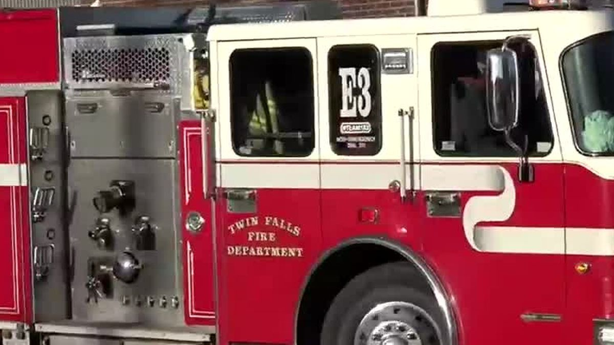Twin Falls Fire Department Engine
