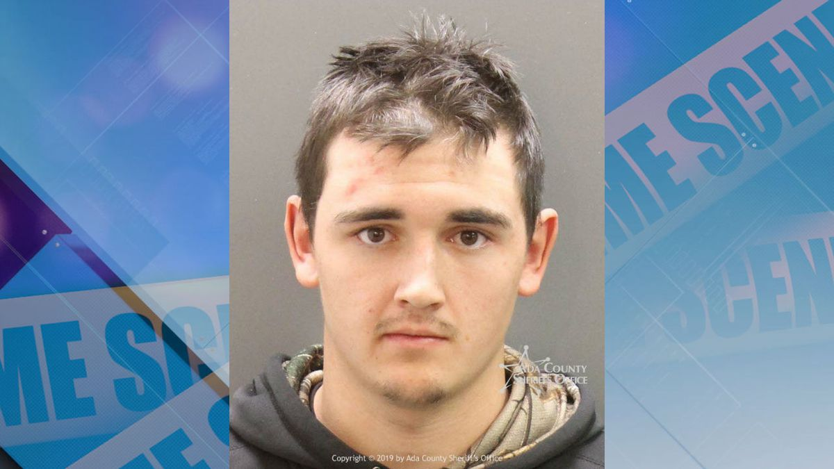Booking photo of Conner M. Brant (Source: Ada County Sheriff's Office).