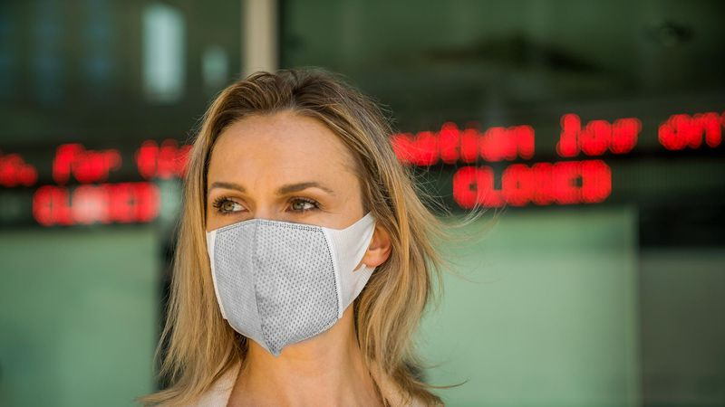 Graphene masks have been shown to actively kill germs not only stop them.