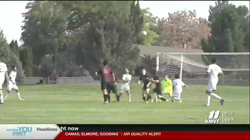 Wood River Boys Soccer knocked off Canyon Ridge on the road.