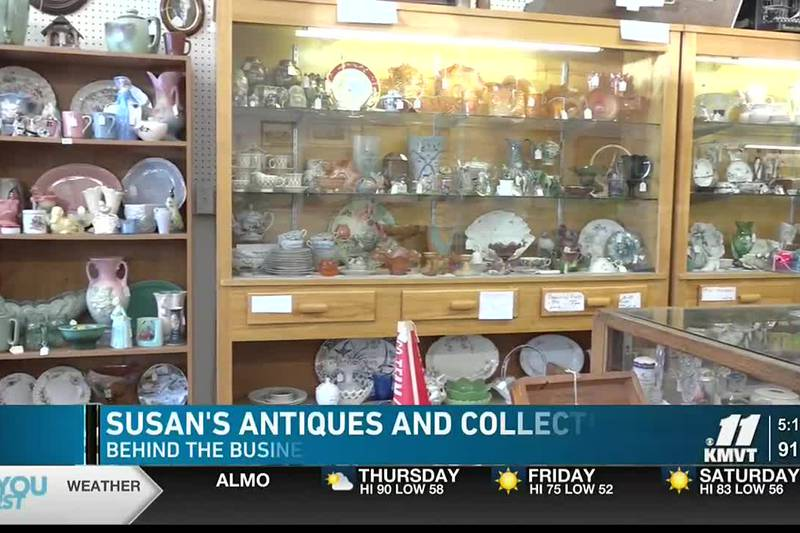 Susan's Antiques and Collectibles is located on Main Avenue in Downtown Twin Falls and has been...