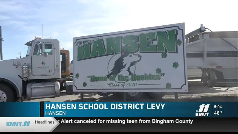 The Hansen School District is seeking a renewal of its current $290,000 supplemental levy in...