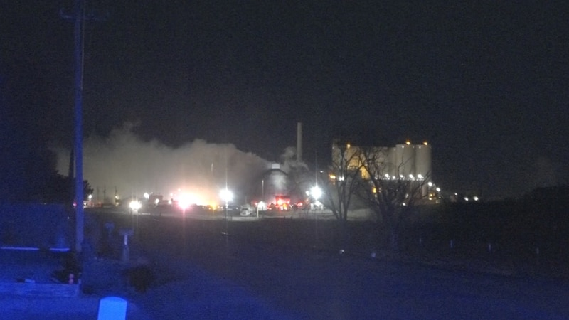 A fire at Amalgamated Sugar Factory near Twin Falls began Saturday night in the structure where...