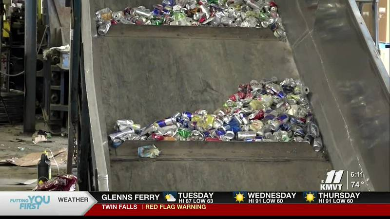 Following fire at Magic Valley Recycling Center, officials stress the importance of following...