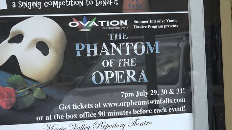 The Phantom of the Opera will be performed Thursday-Saturday at the Orpheum Theatre.