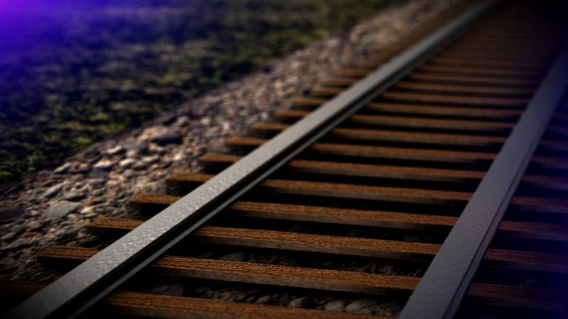 A woman was taken to the hospital after her car collided with a train just after 7 a.m. in...