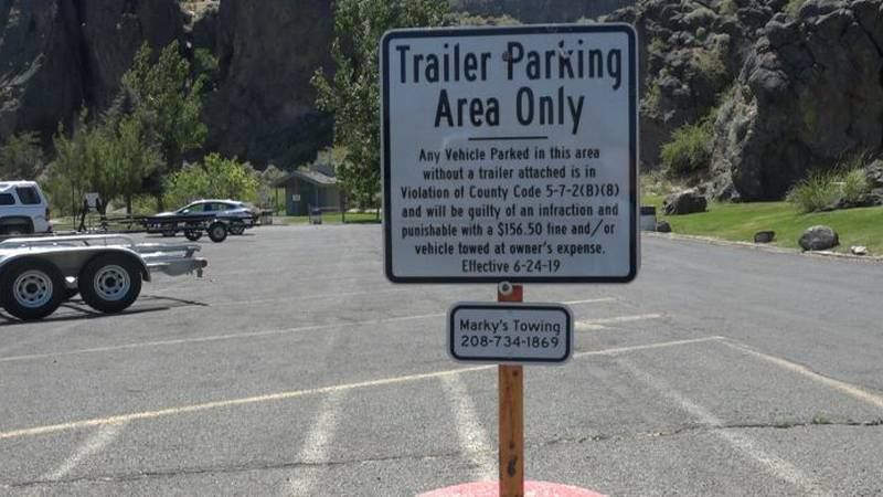 The Twin Falls County Sheriff's Office is reminding drivers of a parking restriction at...
