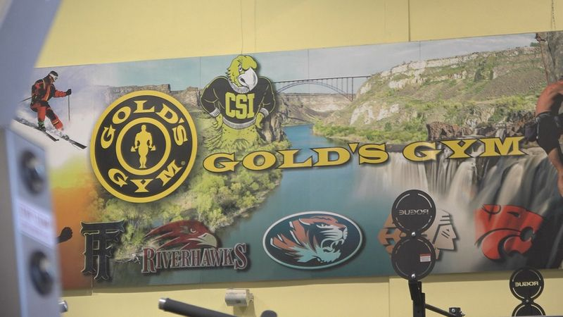 Gold's Gym in Twin Falls typically sees about a 30% ncrease in business after the new year.