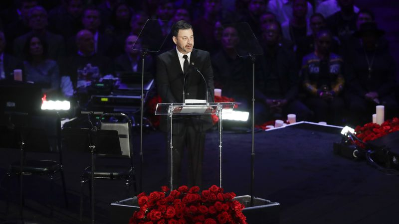 Jimmy Kimmel will host this year's Emmy Awards on Sept. 20.
