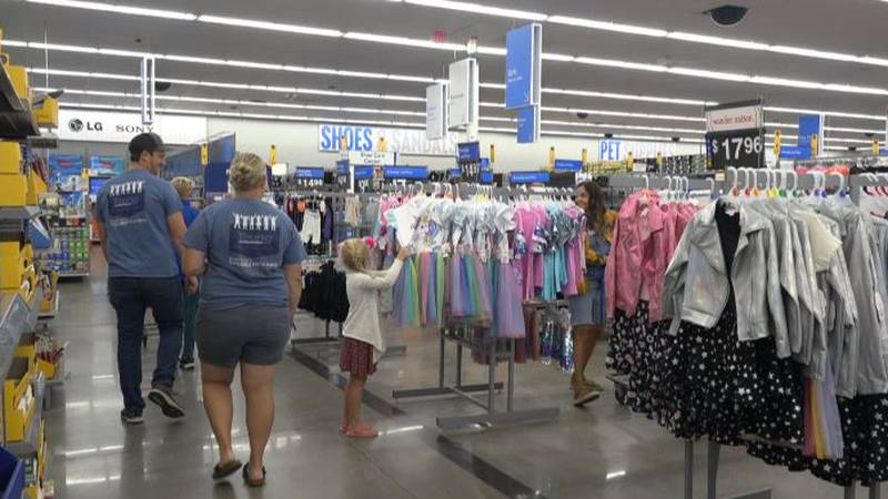 Julie's Clothes For Kids held their 3rd annual event on Friday.