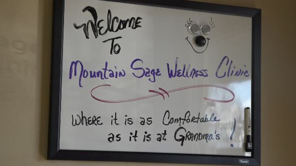 Mountain Sage Wellness Center opened their doors last month, and they specialize in helping those suffering from mental illness, physical pain and PTSD conditions.  (Source: KMVT)