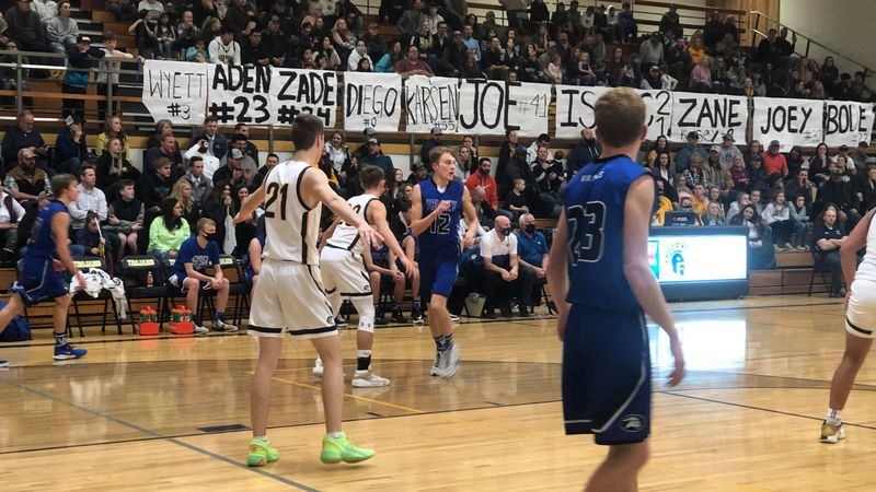 The Trojans hosted the Vikings in the 2A district championship, where they escaped with a 47-44...