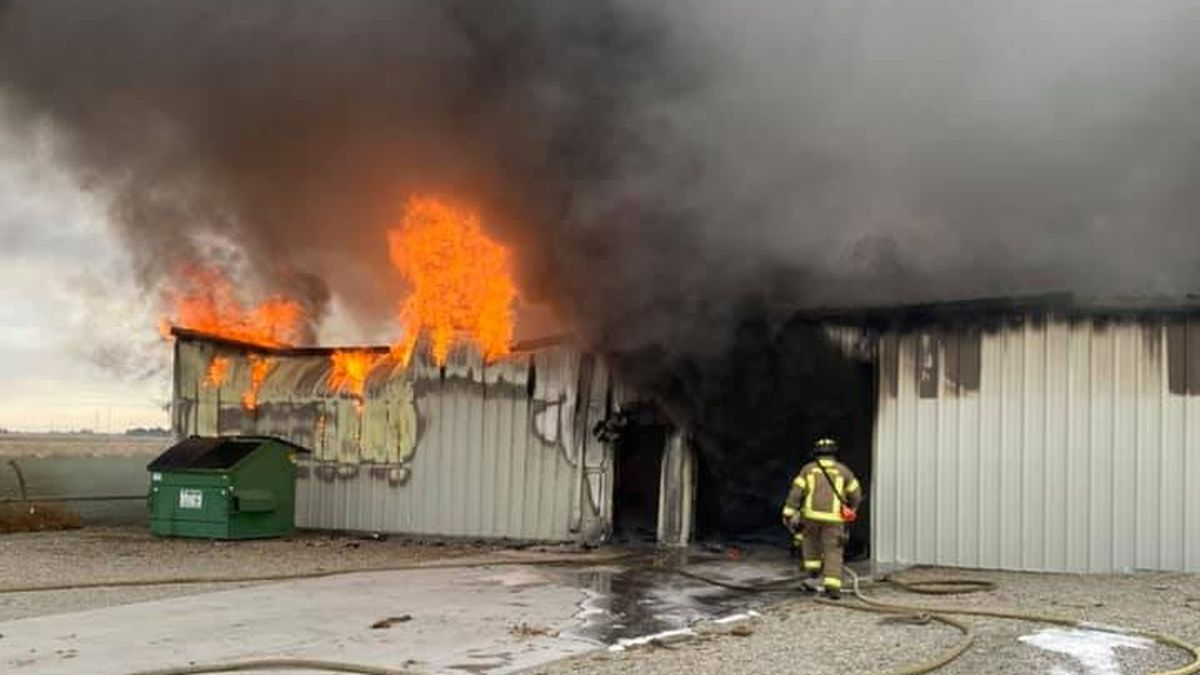 A fire destroyed a Burley cabinet making shop Tuesday afternoon. The Burley Fire Department was...