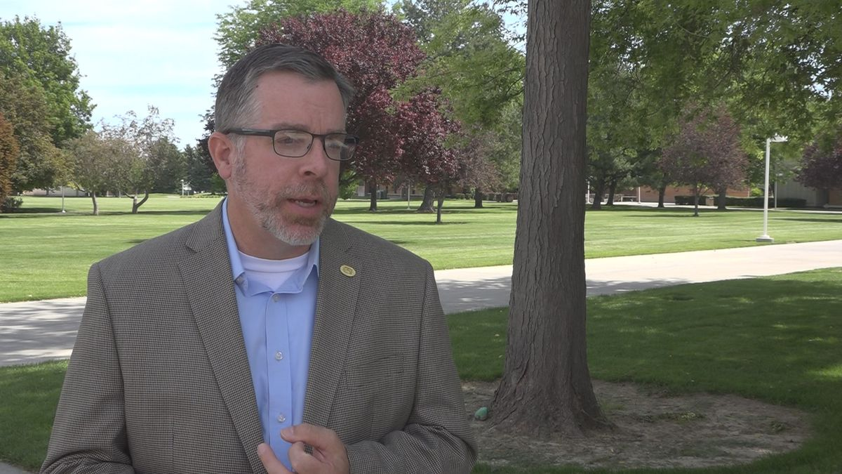 Chris Bragg, Associate Dean of Institutional Effectiveness with the College of Southern Idaho tells KMVT, they are hopeful to see enrollment increase   (KMVT/KSVT Jake Manuel Brasil)