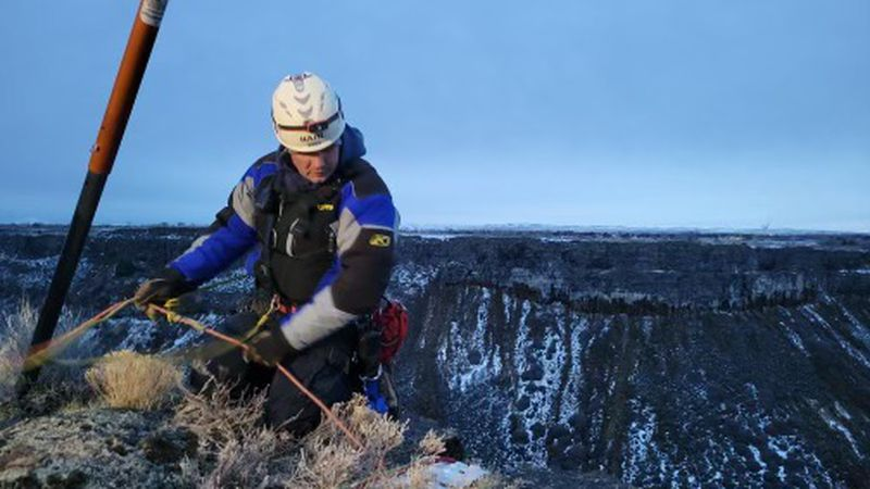 A rescue operation was underway earlier this week, following a hiker stuck in the canyon in the...