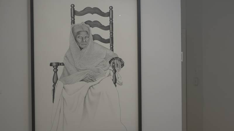 The latest exhibit at the Sun Valley Museum of Art is displaying work looking back at women's...