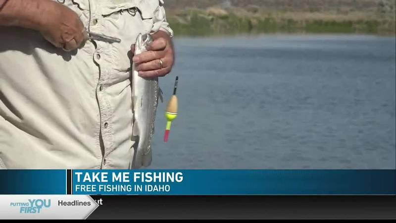 Idaho's free fishing events