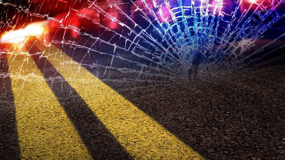 A Shoshone woman was taken to an area hospital after rear-ending a trailer north of Gooding.