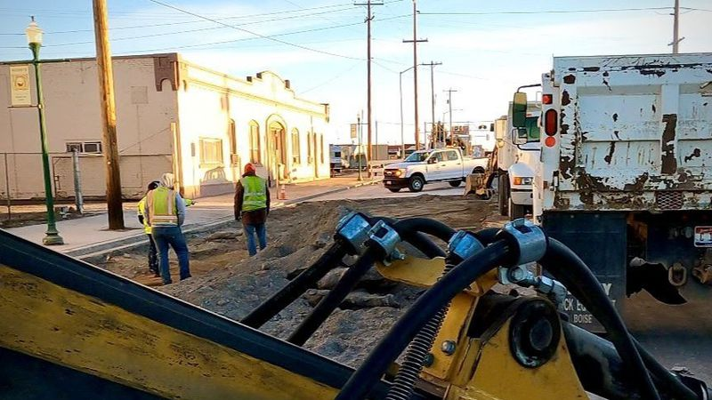A section of Shoshone Street South in Twin Falls reopened Tuesday evening after being closed...