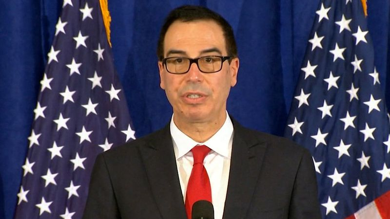 Mnuchin on Thursday had written Federal Reserve Chairman Jerome Powell announcing his decision...