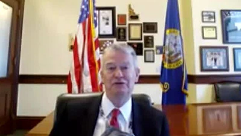 When Gov. Brad Little was asked if he thought vaccinating Idahoans by the end of May was...