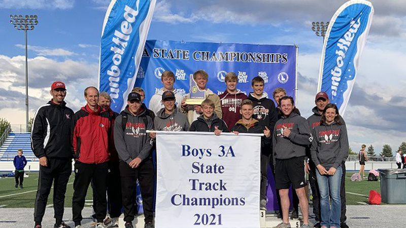 The Kimberly boys track team had a dominant day at the 2021 track state championships.