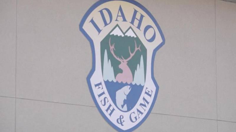 Idaho Fish and Game logo on building (KMVT)