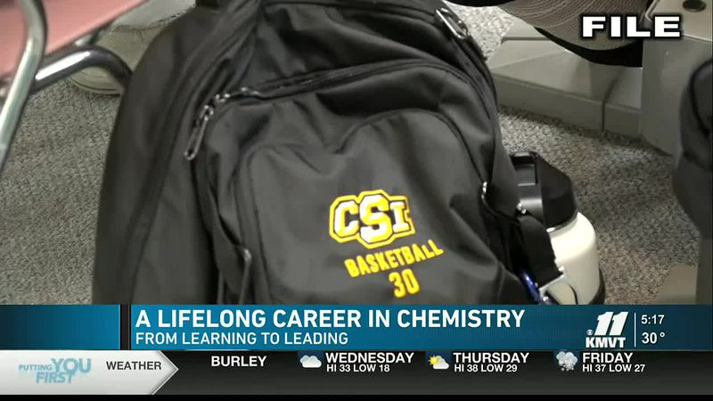 The College of Southern Idaho is showcasing how the field of chemistry has thousands of...