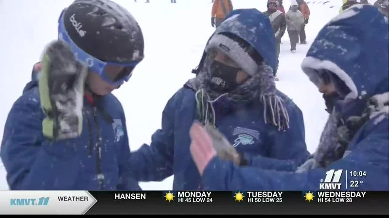 Thirty athletes from Snake River and the Magic Valley Gems competed at the Winter Games on...
