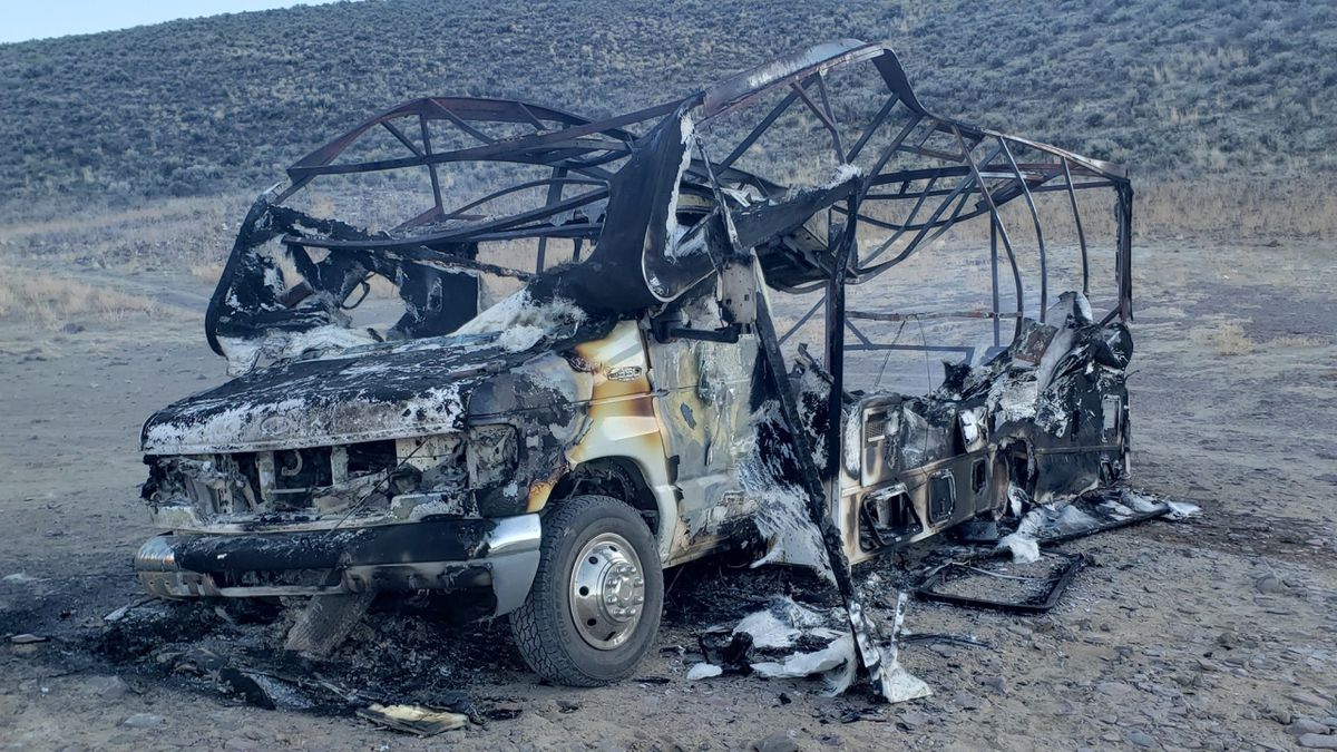 A family of four lost their motorhome in what is believed to be an accidental fire Tuesday...