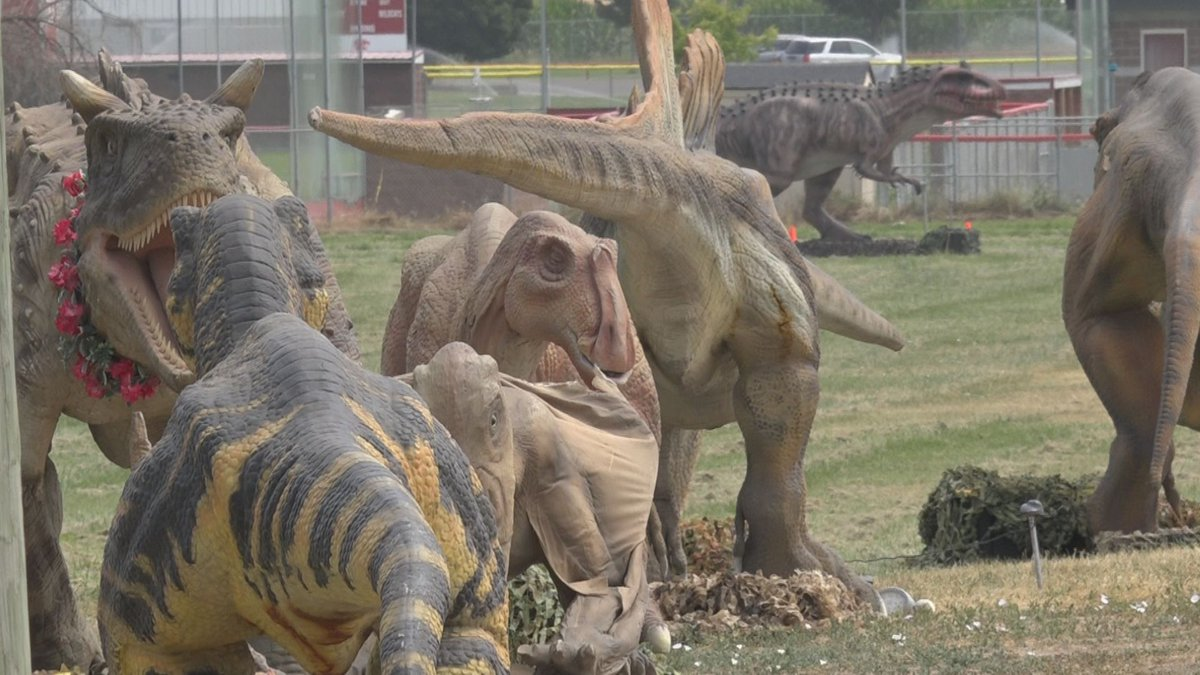 The Jurassic Empire drive through event will be taking place at the fairgrounds this weekend