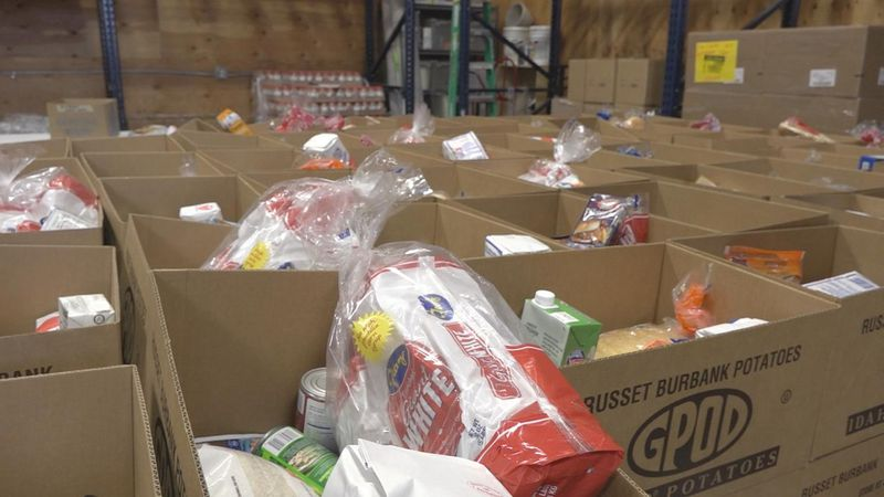 File footage of 60 Hours to Fight Hunger