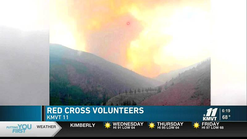 The American Red Cross is looking for volunteers during disaster season