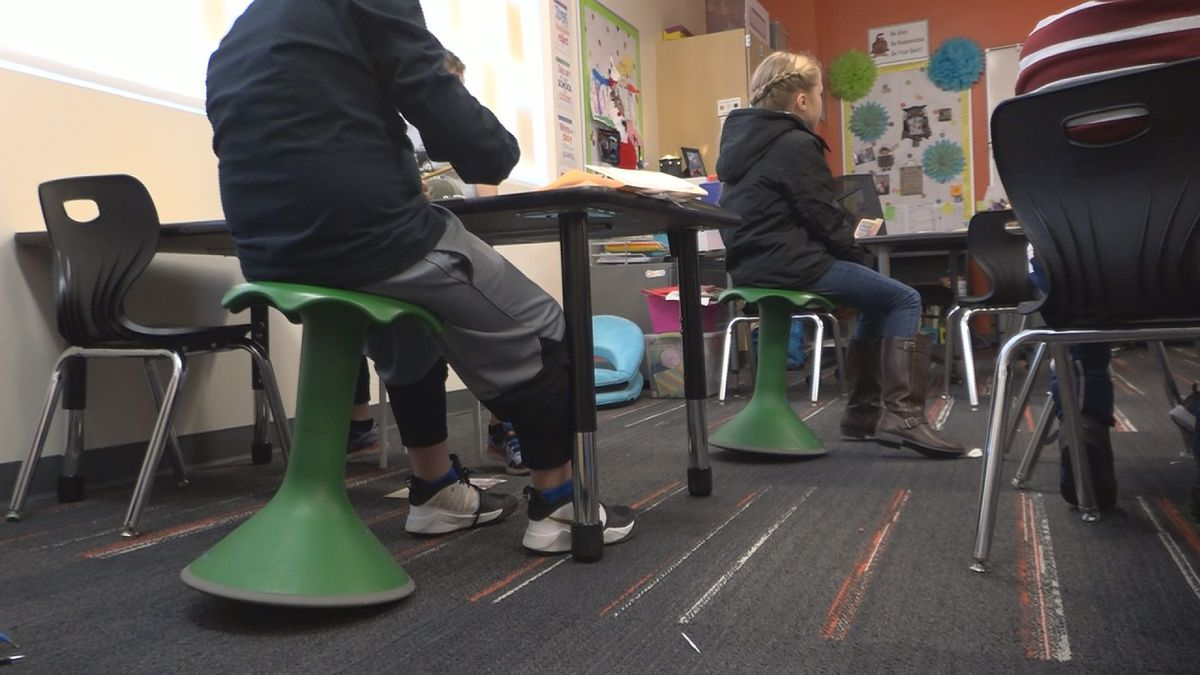 An example of flexible seating (KMVT)