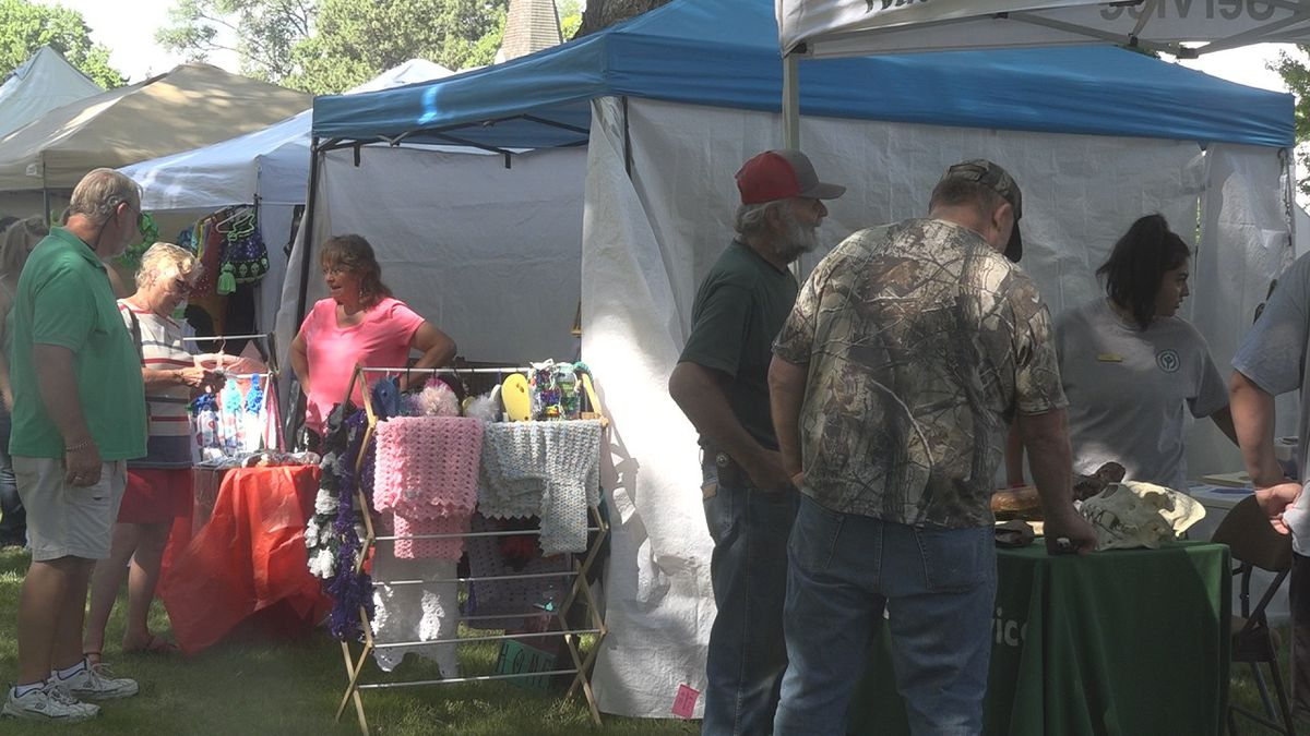 People enjoy the annual event in this 2018 file photo of Shoshone's Art in the Park (Source: KMVT file image)