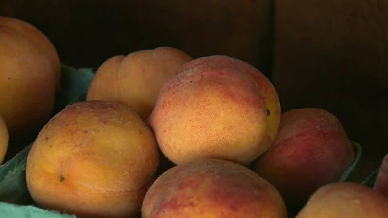 National Peach Day is Sunday.