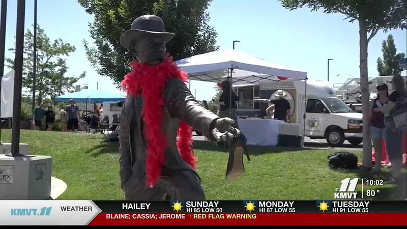 Back in Twin Falls after a year off, the march against violence brought the community together