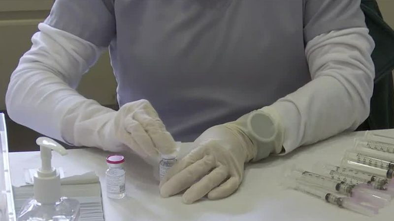 Health district says some vaccines are sent marked as second dose to ensure people who get the...