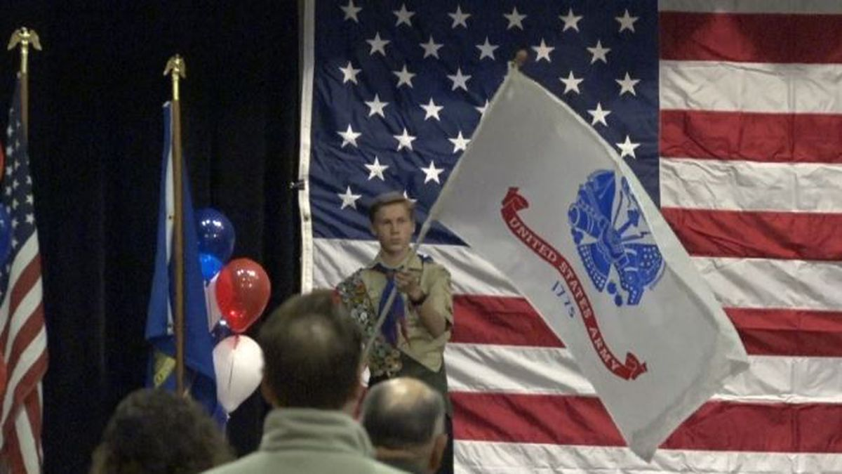 The second annual Veterans appreciation concert was held Monday in Kimberly. (Source: KMVT)