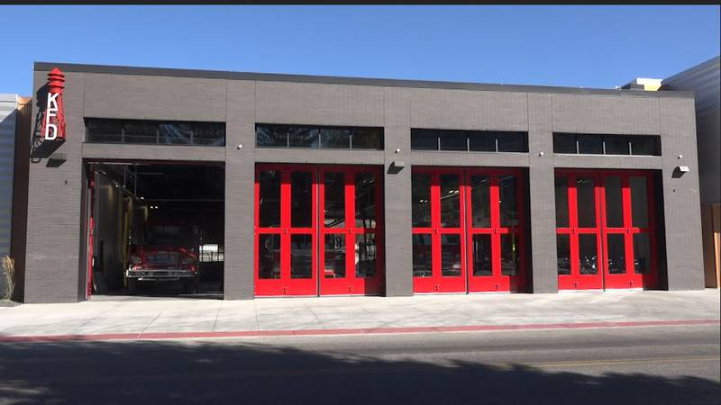 KFD moved in to their new station ten days ago.