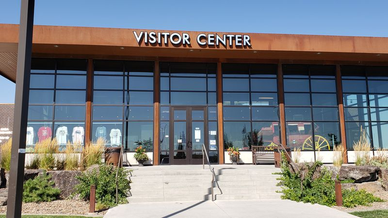 The Twin Falls visitor center was closed from mid March to mid May during coronavirus shutdown