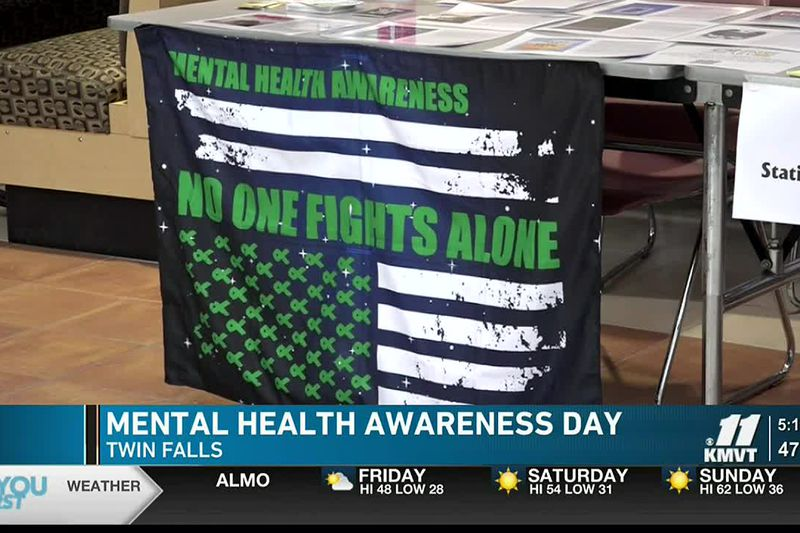 The College of Southern Idaho held a Mental Health Awareness Day for students Thursday afternoon.
