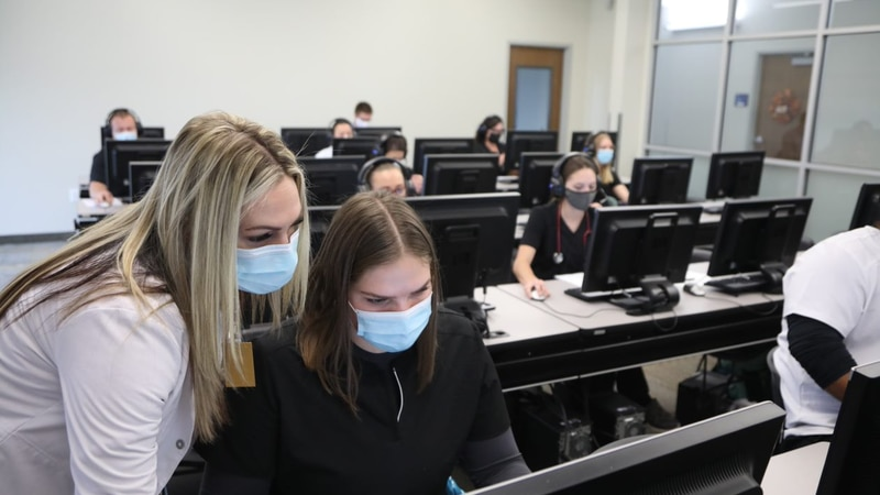 CSI nursing students are volunteering as contact tracers for the SCPHD.