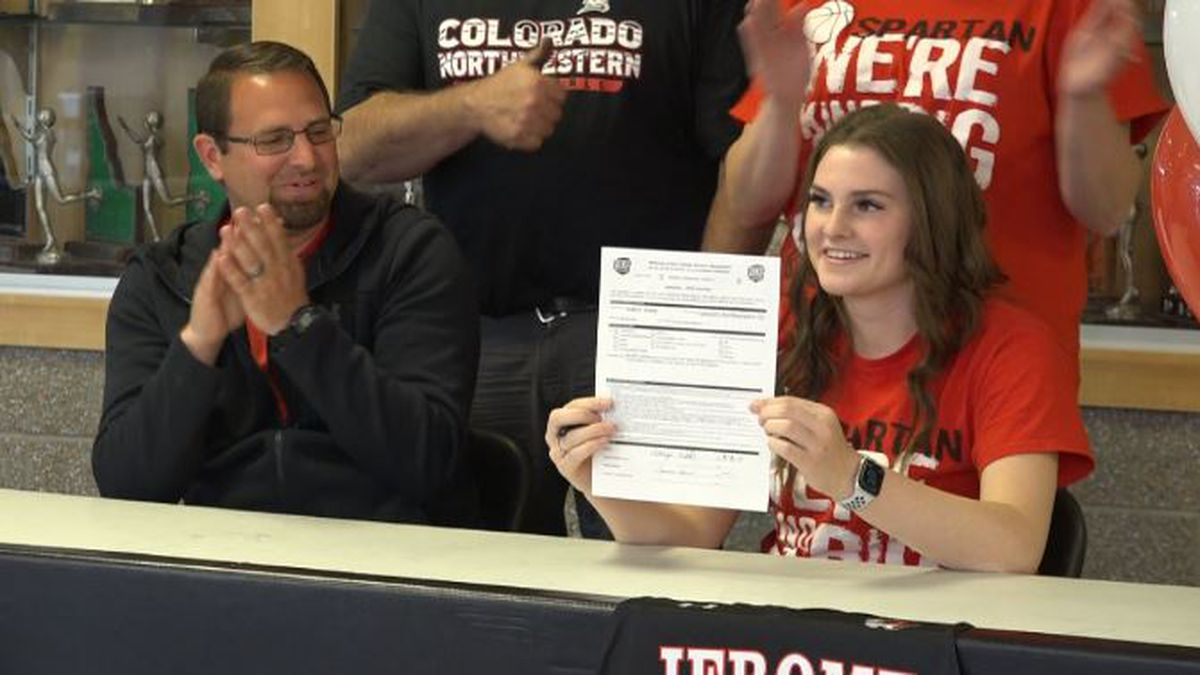 Addy Wells will continue playing basketball at Colorado Northwestern.