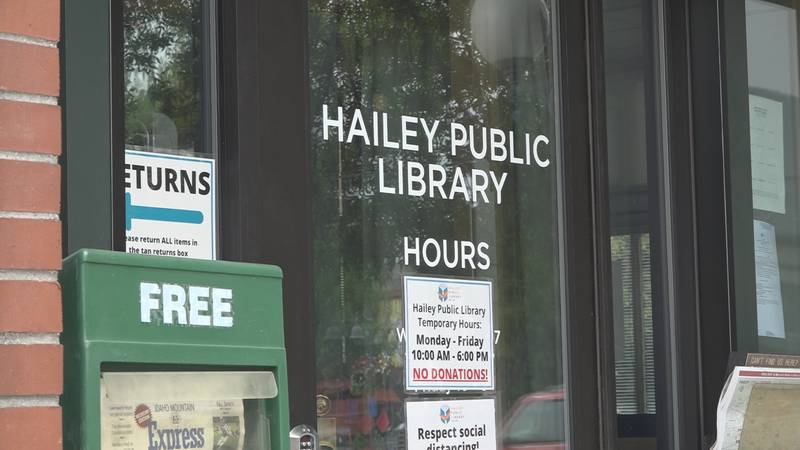 The Hailey Public library is one of the organizations receiving money from the Idaho State...