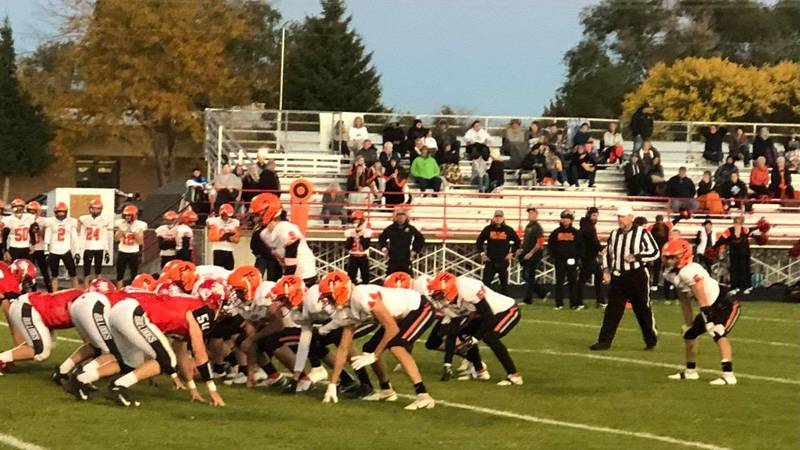 The Indians rallied in the second half to defeat the Bulldogs.