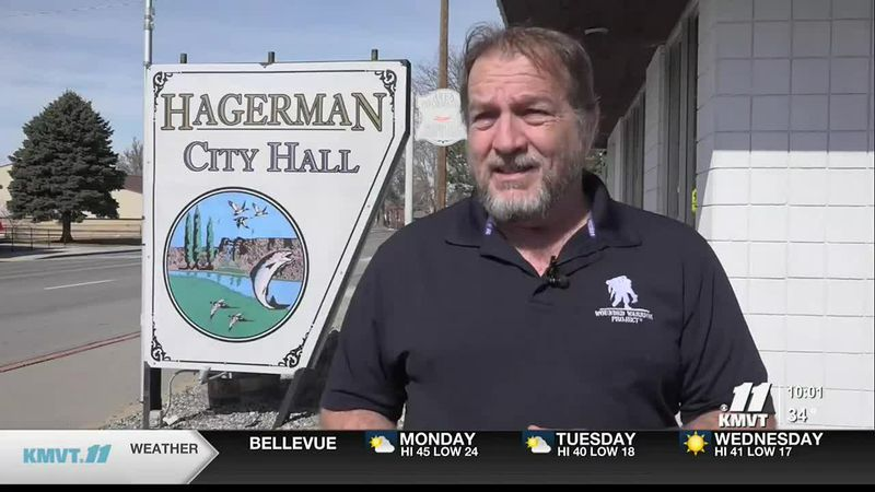 The election is on March 9, and one of the ballot items in Hagerman is to have the mayor...